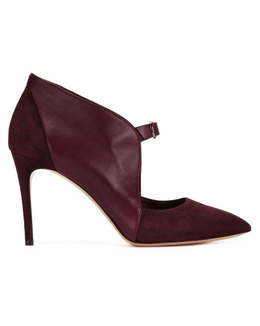 Casadei | Женские Красные Туфли С Заостренным Носком На Шпильке
