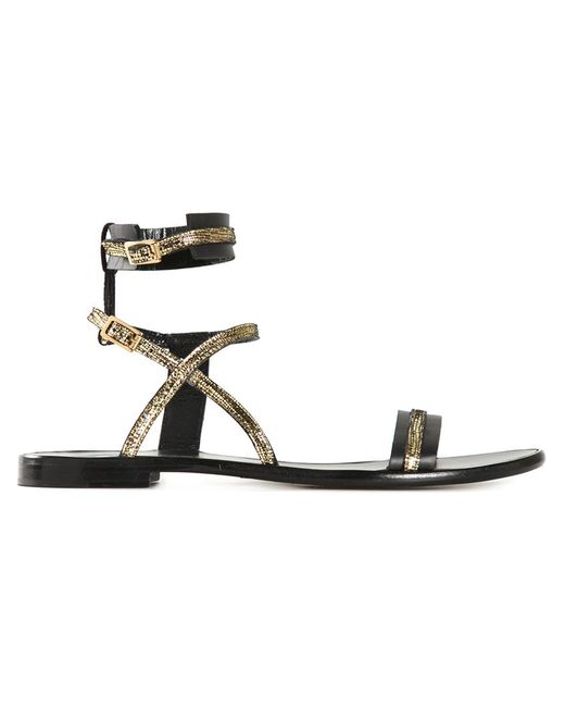 Lanvin   Женское Серебристый Strappy Sandals