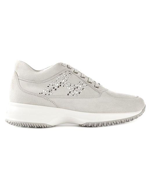 Hogan   Женское Серый Interactive Sneakers