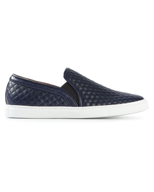 Tabitha Simmons | Женское Navy Calf Leather Huntington Slip-On Sneakers From