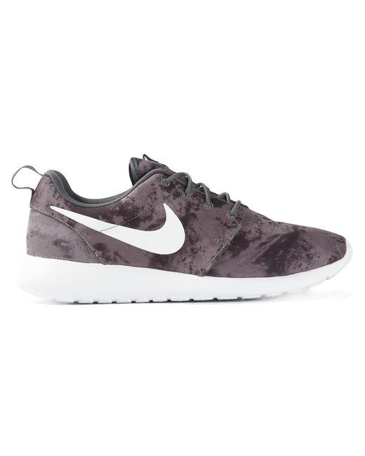 Nike | Мужские Серые Кроссовки Roshe