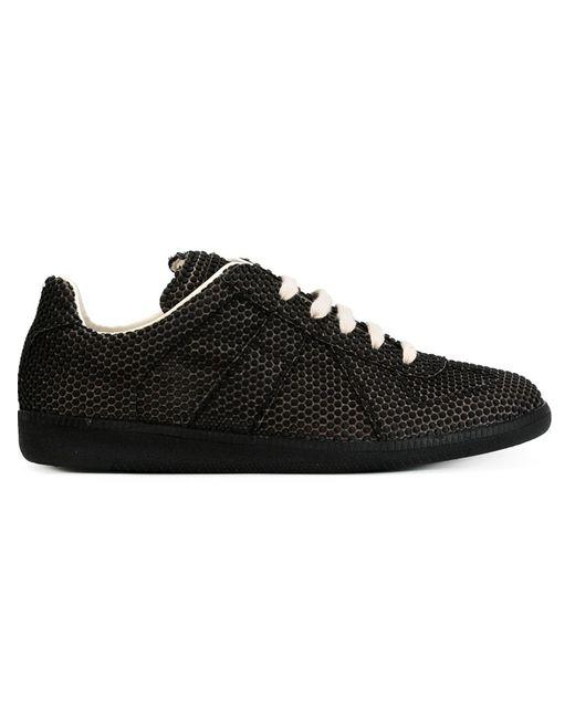 Maison Margiela   Мужское Чёрный Textured Sneakers