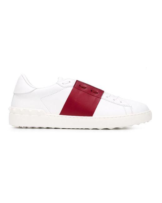 Valentino Garavani | Мужское Белый Open Low Sneakers