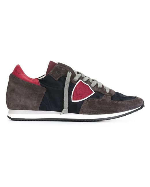 Philippe Model | Мужское Синий Panelled Sneakers