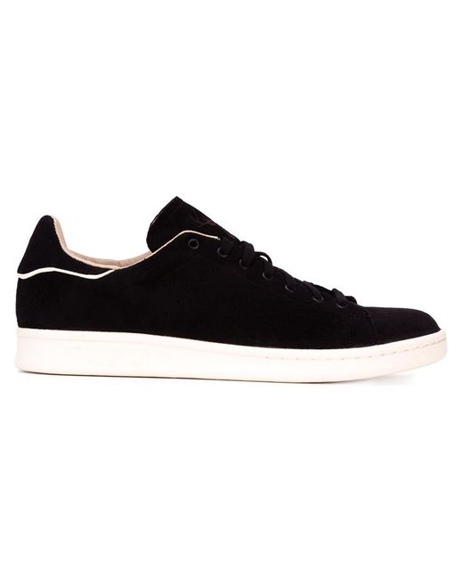 Adidas   Мужские Чёрные Кроссовки Stan Smith
