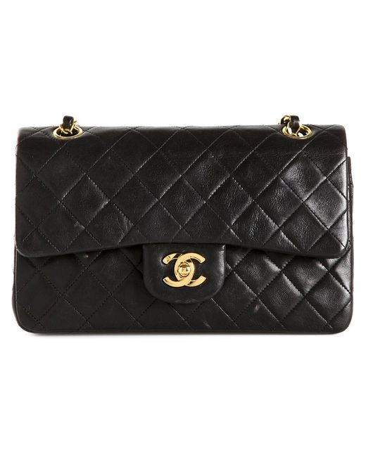Chanel Vintage | Женская Чёрная Сумка 2.55 На Плечо