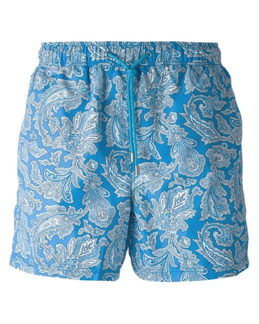 Etro | Мужское And Paisley Print Swim Shorts From