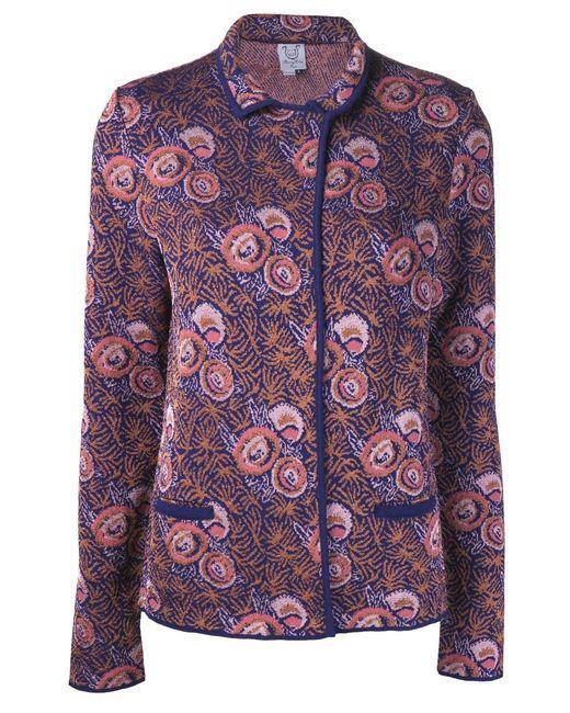 Thierry Colson | Женское Metallic Pattern Coat