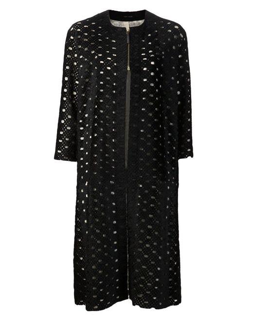 The Row | Женское Чёрное Пальто Sherfan