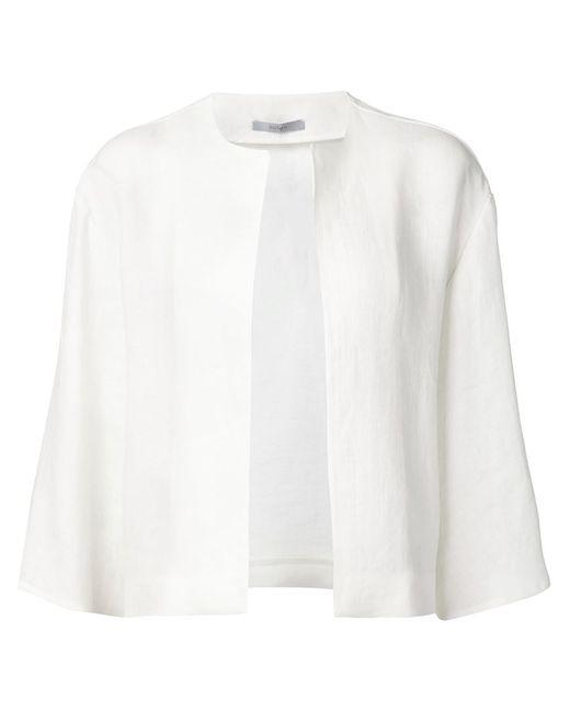 DUSAN | Женская Белая Куртка С Широкими Рукавами