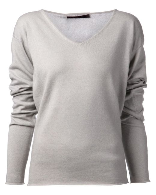 Denis Colomb   Женское Light Cashmere Loose Sweater From Featuring A