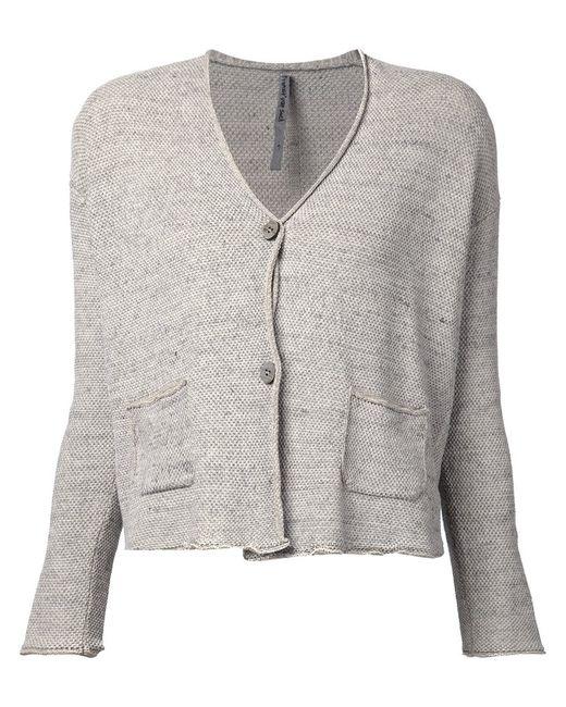 Transit   Женское Cotton Blend V-Neck Cardigan From