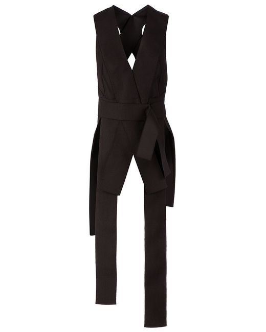 Maison Rabih Kayrouz | Женское Draped Strap Detail Blouse From Featuring A