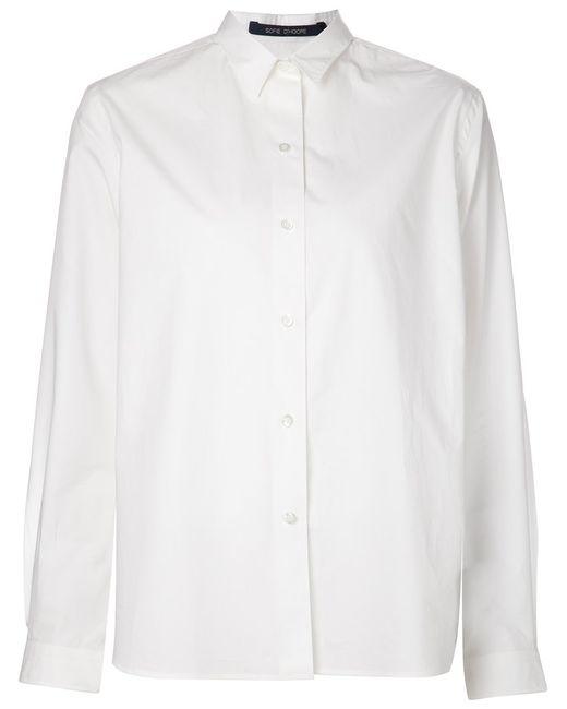 Sofie D'Hoore   Женская Белая Классическая Рубашка
