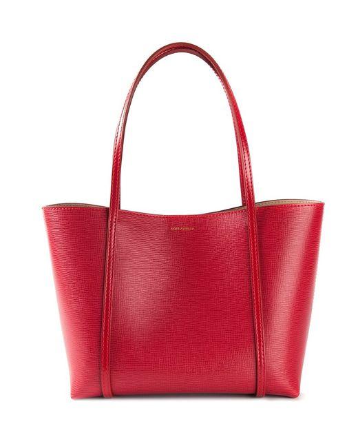 Dolce & Gabbana   Женское Красный Escape Shopper Tote