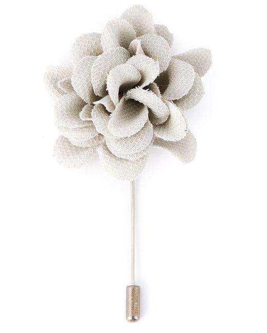 Lanvin | Мужское Серый Flower Tie Pin
