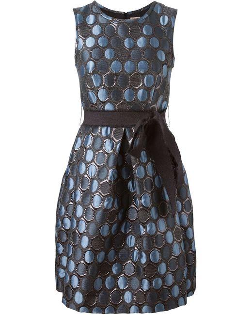 P.A.R.O.S.H. | Женское Синее Платье Palveo