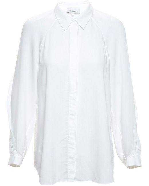 3.1 Phillip Lim | Женское Белый Shirt With Fringe Detailing
