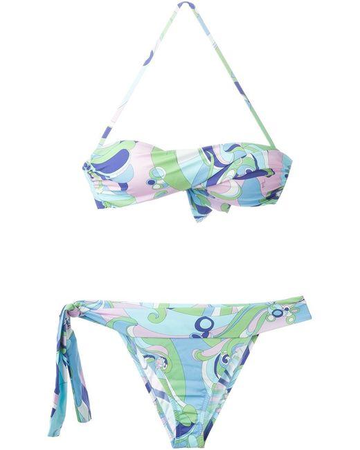 Emilio Pucci | Женское Multicoloured Printed Bikini From