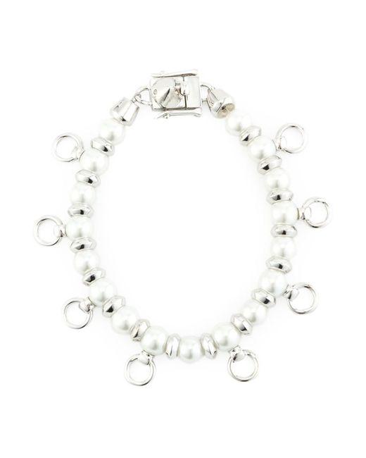 Eddie Borgo | Женское Серебристый Pierced Pearl Bracelet