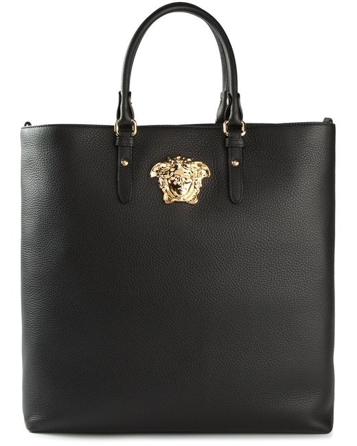 Versace   Женское Чёрный Medusa Shopper