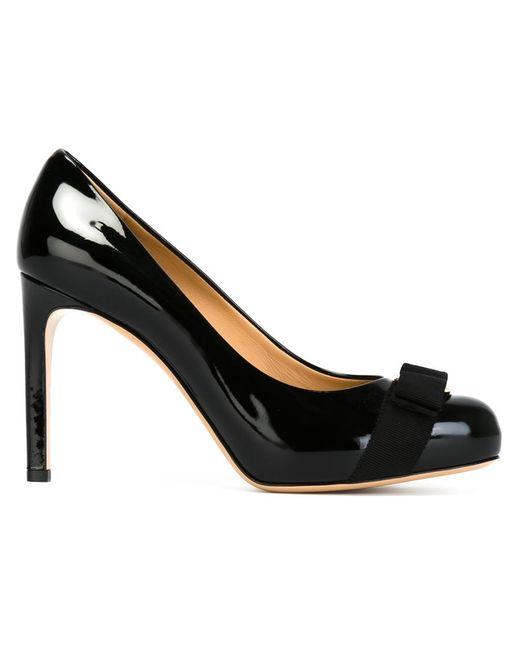 Salvatore Ferragamo | Женские Чёрные Туфли Pimpa