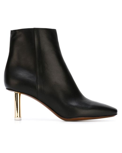 VETEMENTS   Женское Leather Heel Boots From