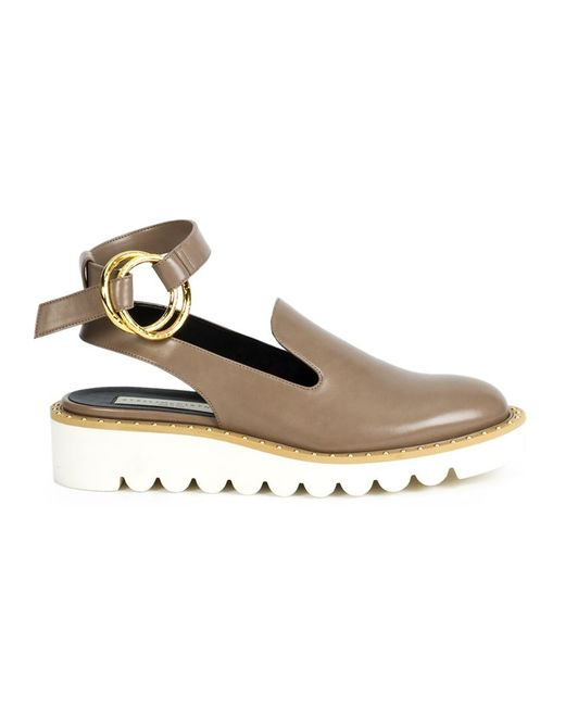 Stella Mccartney | Женское Nude & Neutrals Odette Ankle Strap Loafers