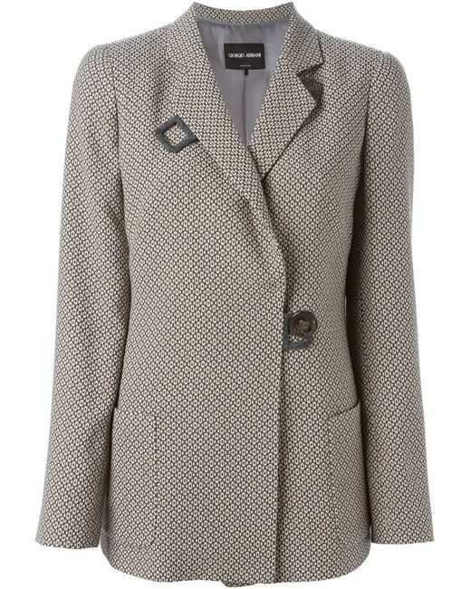 Giorgio Armani | Женское Nude & Neutrals Double Breasted Short Coat