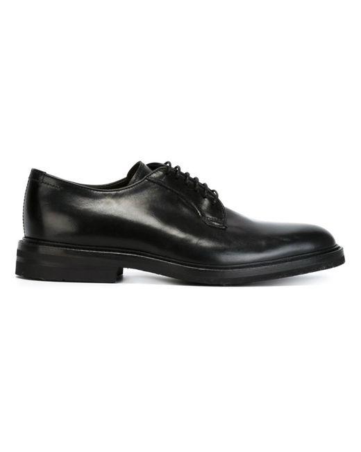 Henderson Fusion | Мужские Чёрные Классические Туфли Дерби