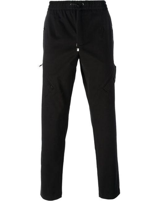 Dolce & Gabbana   Мужские Чёрные Спортивные Брюки Кроя Слим
