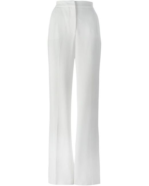 MSGM | Женское Красный High Waist Wide Leg Trousers