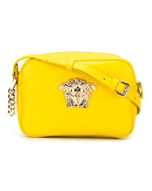 Versace | Женская Жёлтая Сумка Через Плечо Medusa
