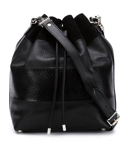 Proenza Schouler | Женское Чёрный Drawstring Bucket Bag