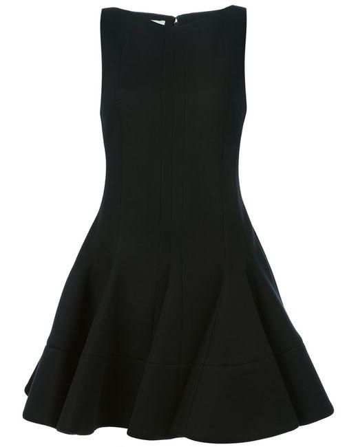 Antonio Berardi | Женское Чёрное Платье А-Образного Силуэта