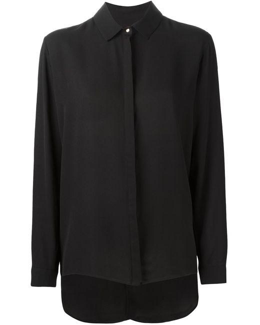 GINGER & SMART   Женская Чёрная Рубашка Secret Vice