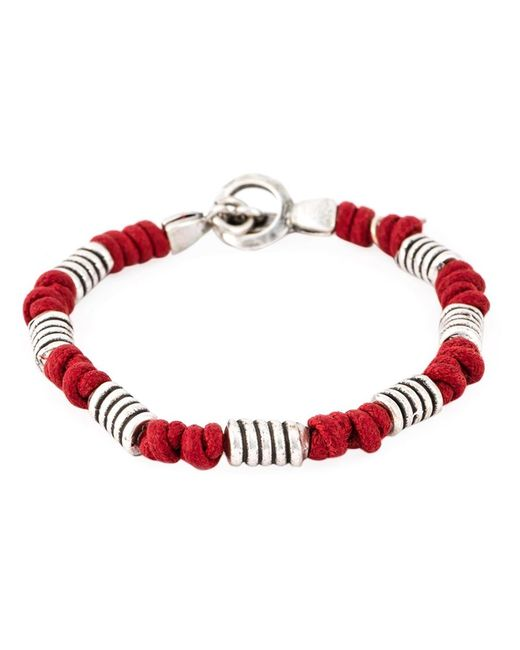 Eleventy | Мужское Серебристый And Beaded Bracelet From