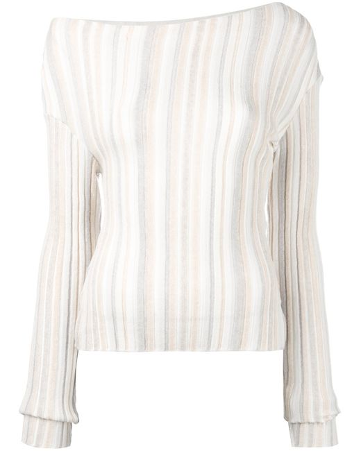 JACQUEMUS | Женское Nude/Neutrals Knitted Top 40