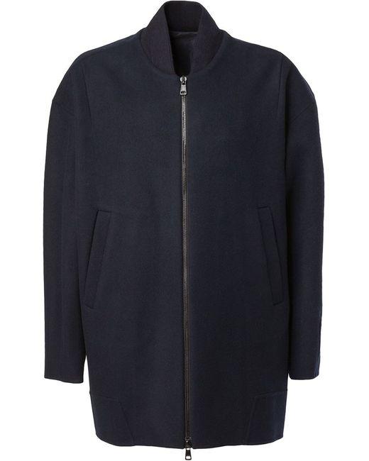 JUUN.J | Мужское Синий Bomber-Style Coat