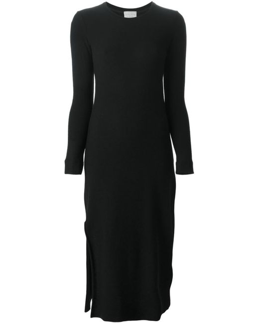 Forte Forte   Женское Чёрное Облегающее Платье