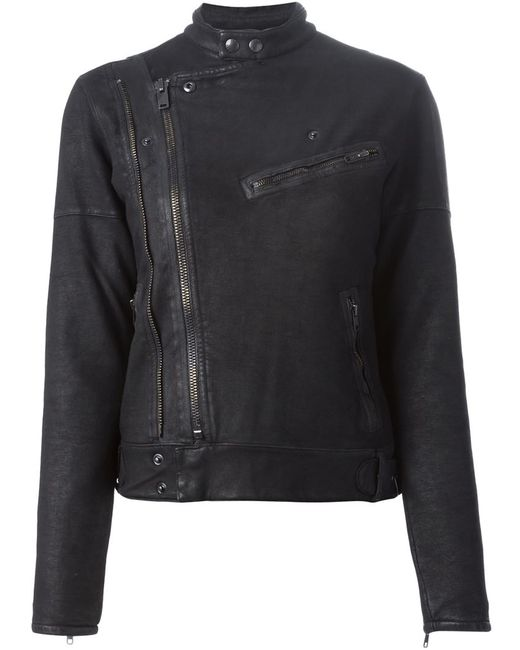 Polo Ralph Lauren | Женская Чёрная Куртка Jinny Moto