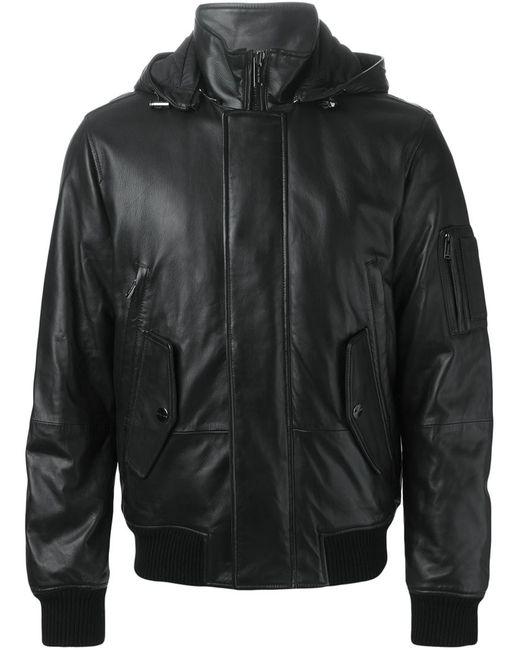 Michael Kors | Мужская Чёрная Куртка С Капюшоном