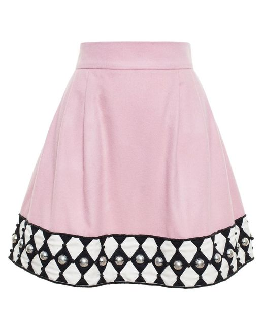 Olympia Le-Tan | Женское Embroidered Mini Skirt