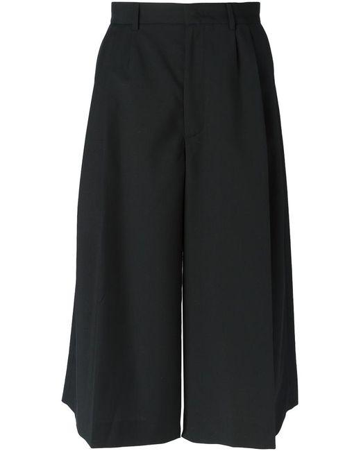 Mcq Alexander Mcqueen | Женское Cropped Wide Leg Trousers