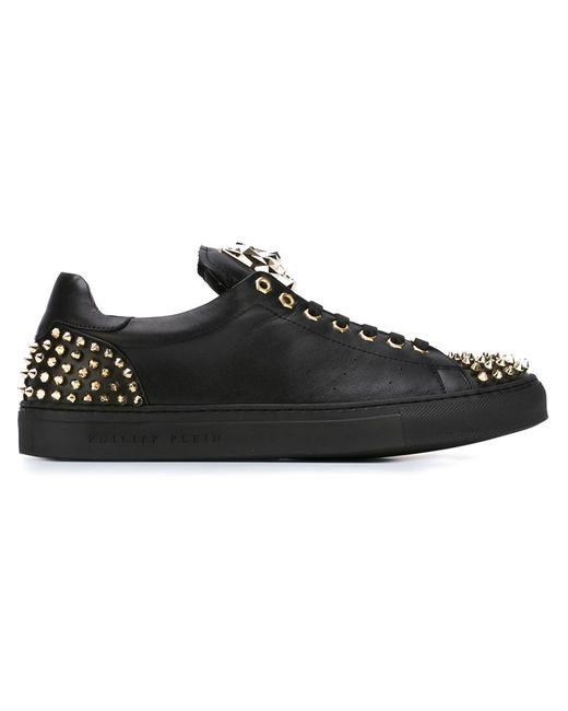 Philipp Plein   Мужское Чёрный Open Sneakers