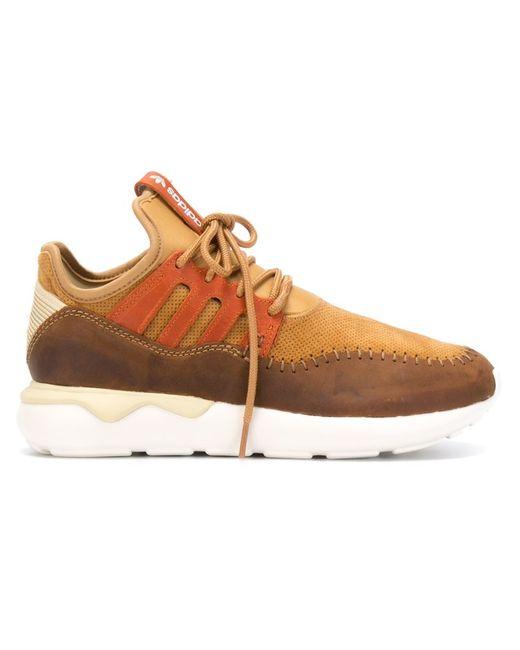 adidas Originals   Мужские Коричневые Кроссовки Tubular Moc Runner