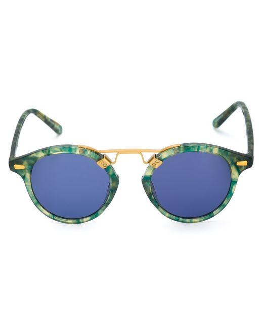 Krewe du Optic | Зелёные Солнцезащитные Очки St. Louis