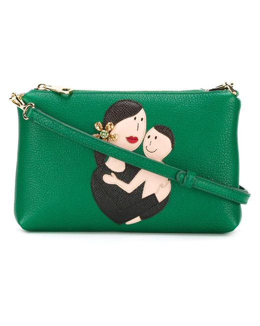 Dolce & Gabbana | Женское Family Patch Crossbody Bag