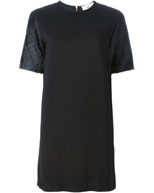 Folk | Женское Чёрное Платье Rhythm