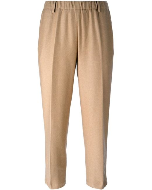 Forte Forte   Женское Nude & Neutrals Cropped Trousers